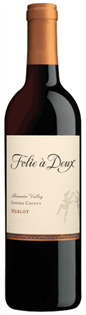 Folie A Deux Merlot Alexander Valley 2013 750ml
